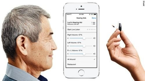 Apple Collaborates on a Hearing Aid That Streams Music, Syncs with iPhone