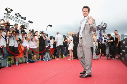 Mark Wahlberg, Michael Bay, and More Hit the Ignition on 'Transformers: Age of Extinction' in Hong Kong