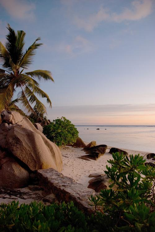 #Daydream: Sunset in the Seychelles