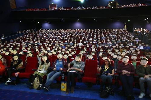 Chinese Theaters Test Movies Where Your Text Messages Appear Onscreen