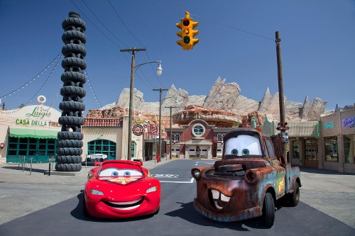 Cars Land brings animated blockbuster Cars to Life at Disney California Adventure Park