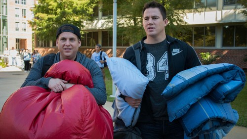 Channing Tatum and Jonah Hill Take Their Brother Act to College in '22 Jump Street'