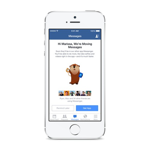 Facebook Receives a Message from Reviewers: We Hate Your New App