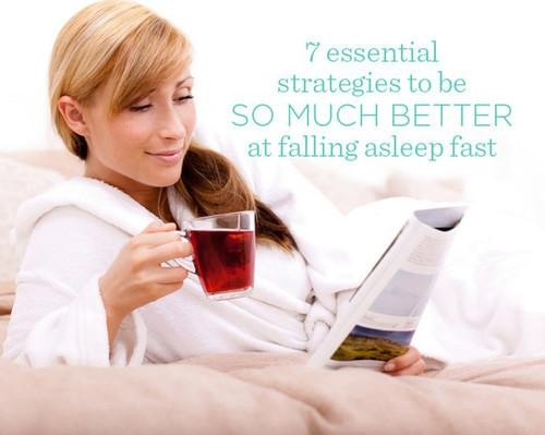 Get Better at Falling Asleep Faster