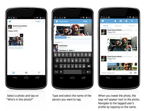 You Can Now Tag People in Photos on Twitter's Mobile App