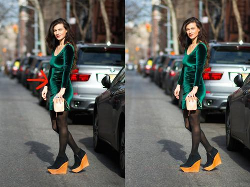 Fashion Blogger Admits to Using Photoshop, Comes Clean With 'Before' Photos