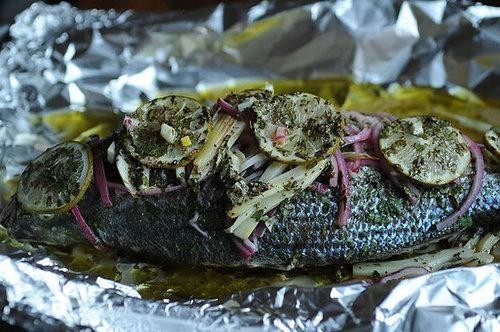 The Three Fs: Fish and Fennel in Foil