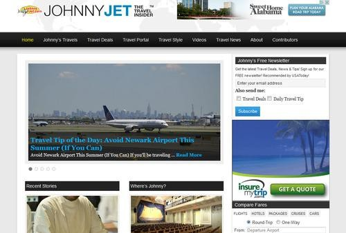Frequent Flier Johnny Jet Shares Travel Tips