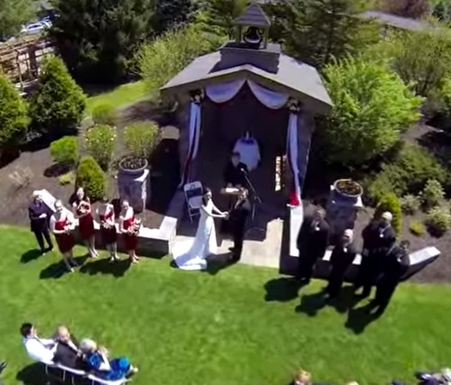 The Rise of the Wedding Drone