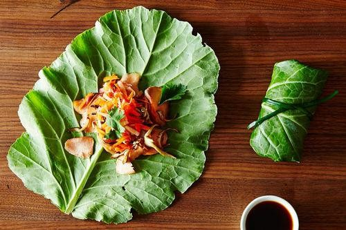 Knockout Summer Rolls That Use Up Leftover Fish