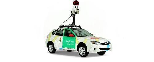 Google Street View Car Crashes After Taking Wrong Turn