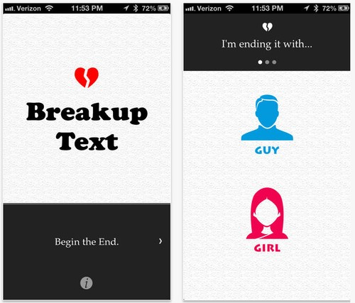 Rather Be Single This Valentine's Day? This App Can Send a Breakup Text for You