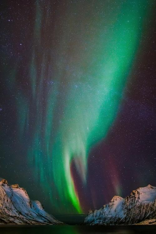 #Daydream: Northern lights in Tromsø, Norway