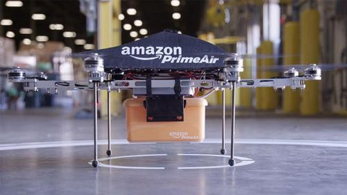 Amazon Asks Government for Permission to Fly Drones