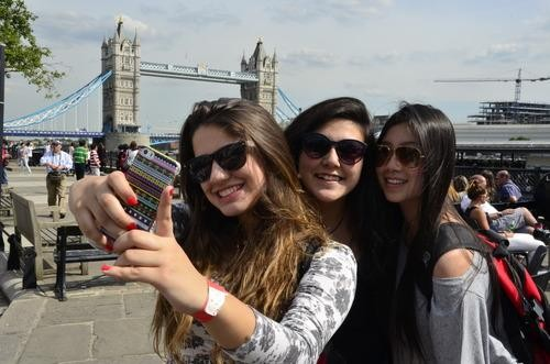 The Great Vacation #Selfie War: Parents vs. Teens