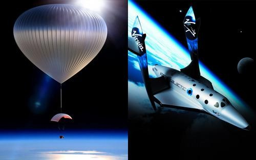 SPACESHIP SMACKDOWN: Space Balloon vs. Richard Branson's Virgin SpaceShipTwo
