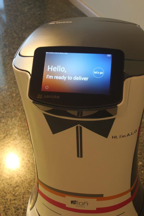 WATCH: The First Robot Hotel Butler Makes His Rounds