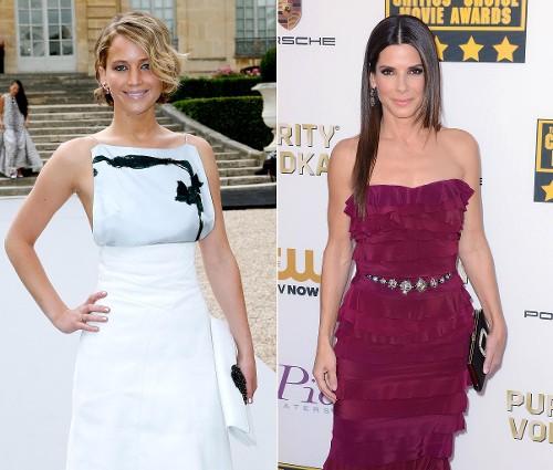 Jennifer Lawrence vs. Sandra Bullock: Who Is Hollywood's Top-Earning Actress?