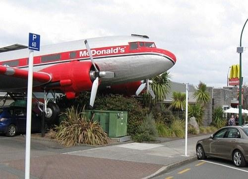 Fly on the McPlane: McDonald's Opens 20-Seat Restaurant on Vintage Aircraft