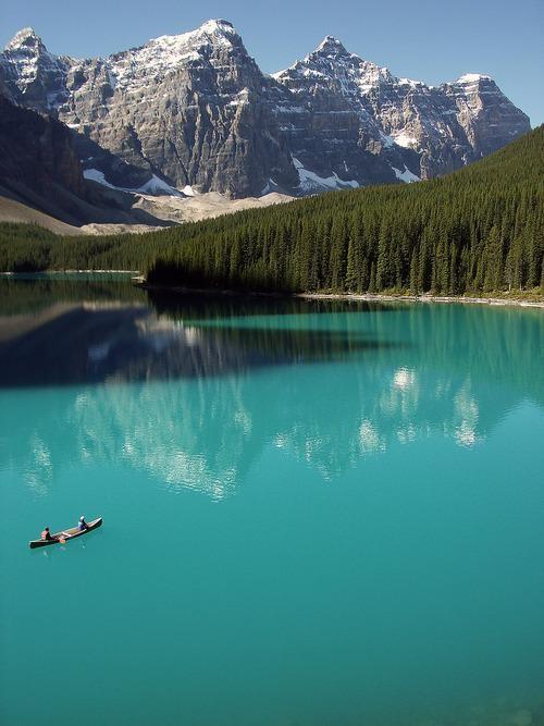 #Daydream: Moraine Lake,  Banff National Park