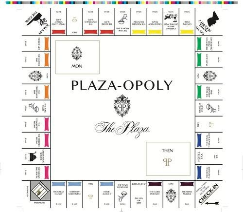 Plaza-opoly: Game Night for the Glamorous Life