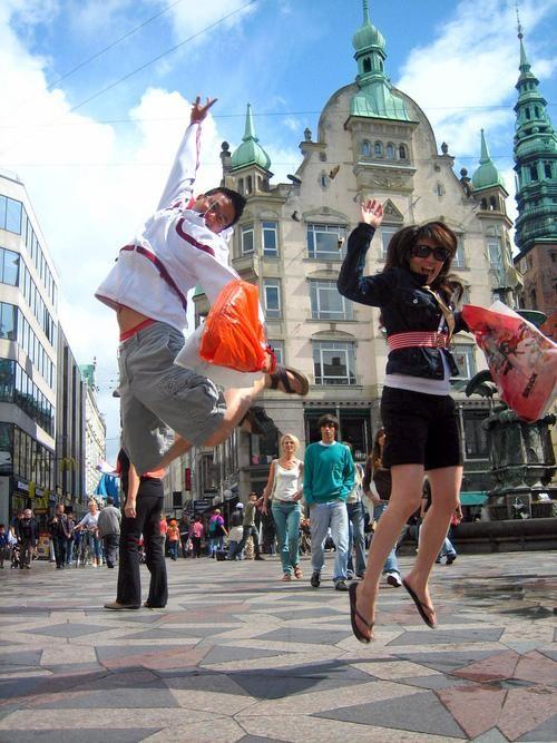 A Tale of Two Shopping Cities: Copenhagen and Helsinki