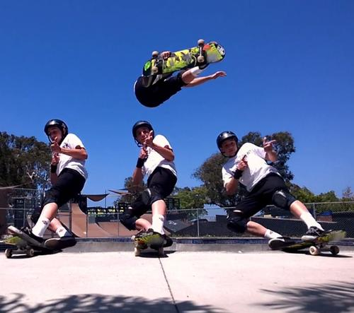 WATCH: An Impressive Live-Action Skateboarding Collage Shot on a Smartphone