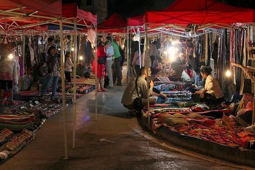 Shop Your Way Around the World: Luang Prabang's Night Market