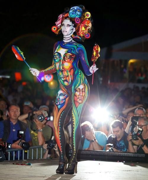 Everybody, Paint Your Body: A Look Inside the World Bodypainting Festival