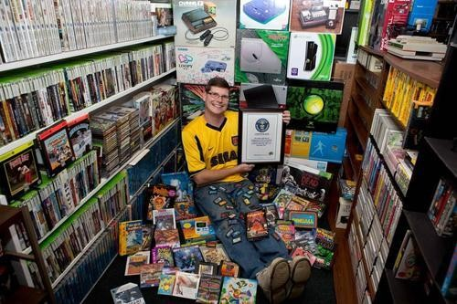World's Largest Video Game Collection Is Up For Sale