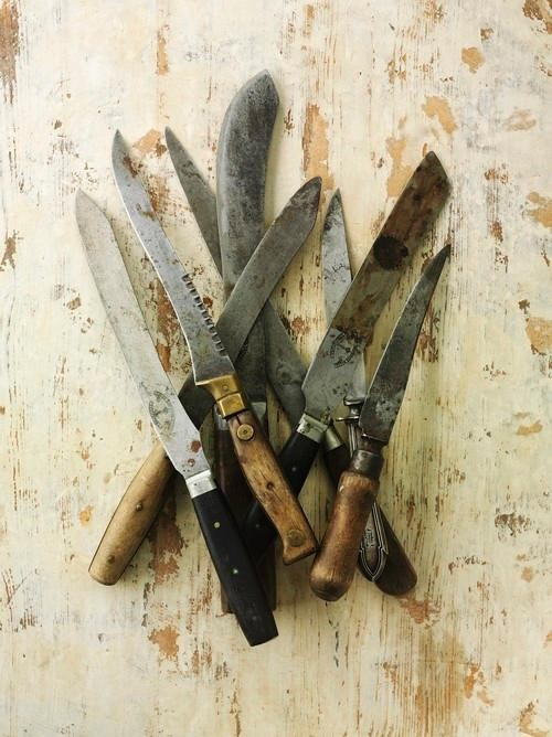 Why Chefs Are Obsessed with Old Knives