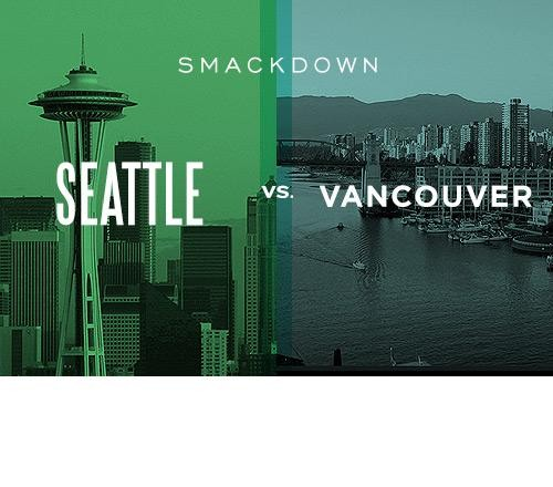 Seattle vs. Vancouver