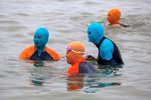 Facekini Is the Newest Trend in Skin Protection
