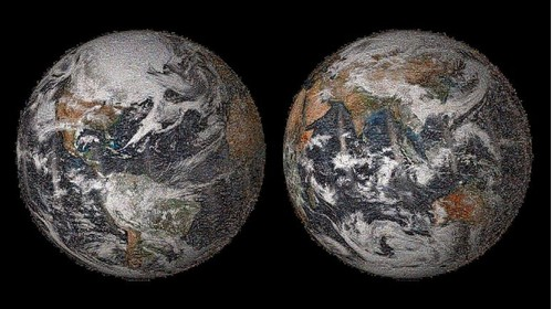 NASA Unveils 'Global Selfie,' an Image of Earth Made from 36,000 Selfies