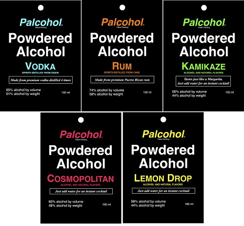Powdered Alcohols No Longer Have Label Approvals