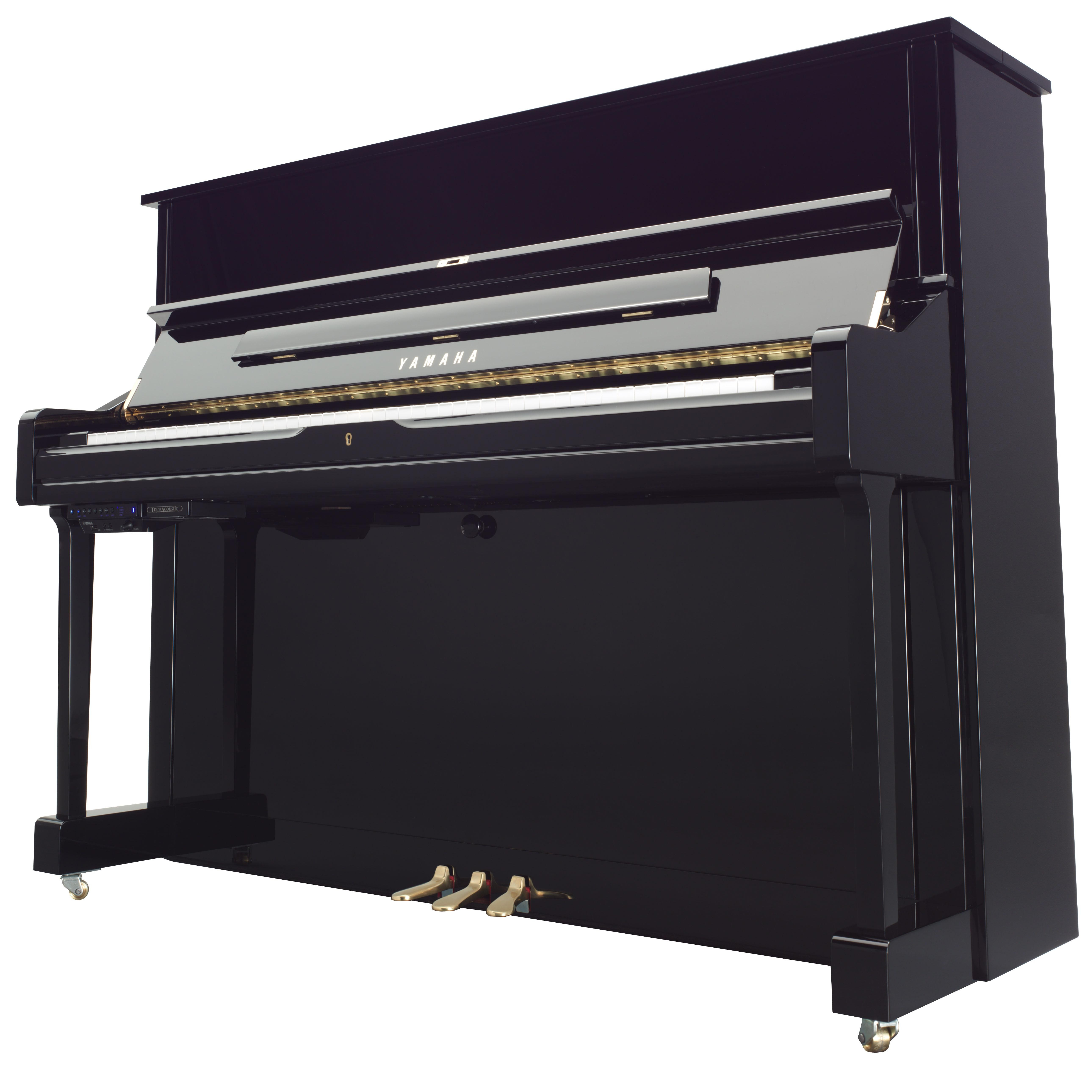 Review yamaha s genetic experiment splices digital grand for Yamaha upright grand