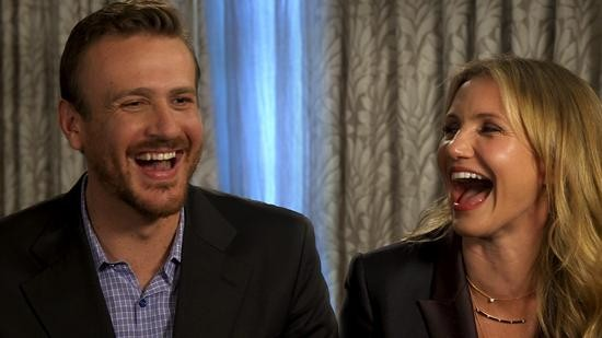 How Cameron Diaz and Jason Segel Worked Their Way Through the Awkwardness of Shooting 'Sex Tape'