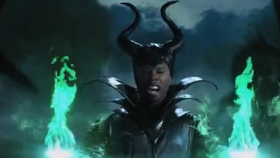 50 Cent Conjures 'Maleficent' for Jimmy Kimmel  50 Cent Conjure...