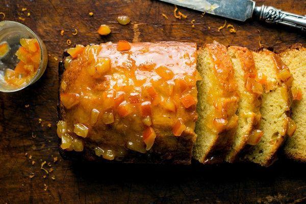 Super-Buttery British Marmalade Cake