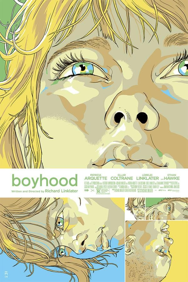 Exclusive: Gorgeous Alternate Poster Art for 'Boyhood'