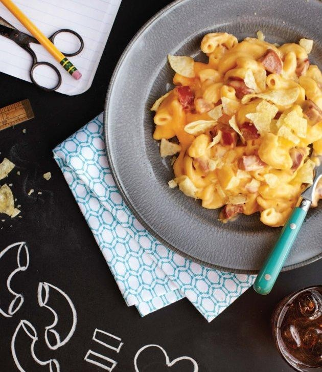 Mac and Cheese, Meet Potato Chips and Hot Dogs (Just Trust Us)