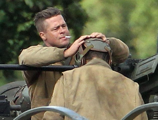 First Look at Brad Pitt's WWII Epic, 'Fury'