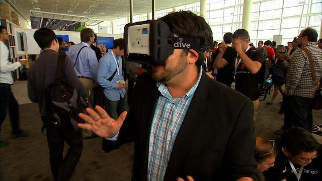 WATCH: Google's Project Tango Augmented Reality Tablet in Action
