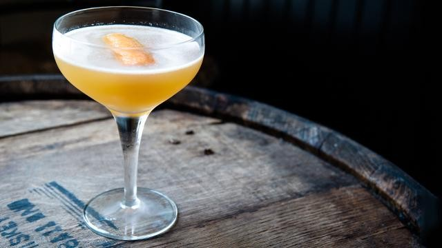 One Fabulous Bourbon Grapefruit Cocktail