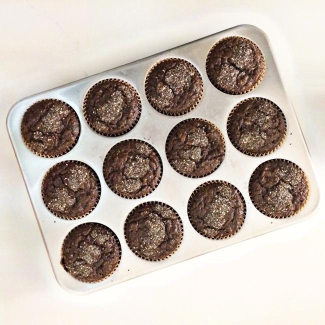 Buckwheat Zucchini Chia Muffins