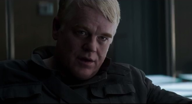 Philip Seymour Hoffman Is Talking About Revolution in the New 'Mockingjay' Trailer
