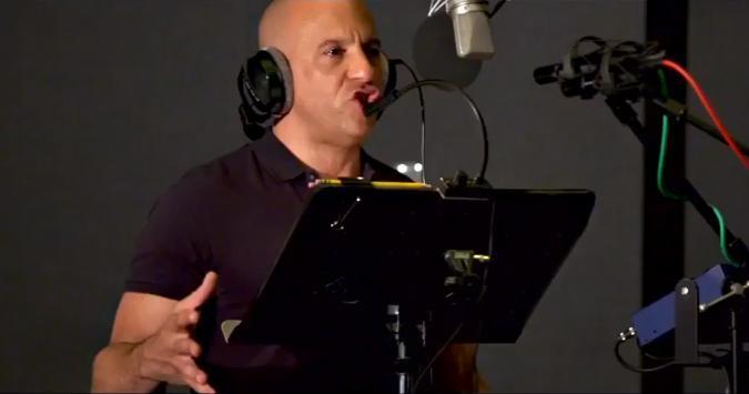 Vin Diesel Flashes Multilingual Flair as Groot