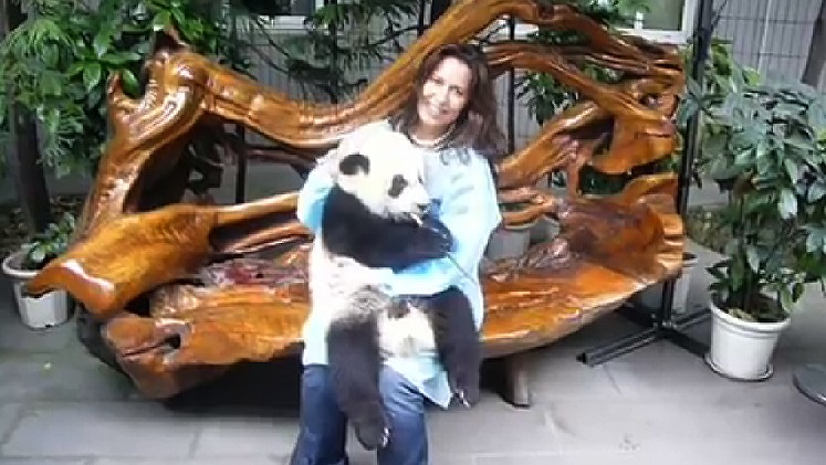 WATCH: I Cuddled a Baby Panda, And You Can Too!