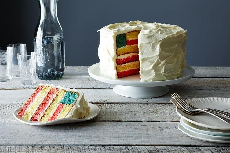 Make a Flag Cake for the Fourth!