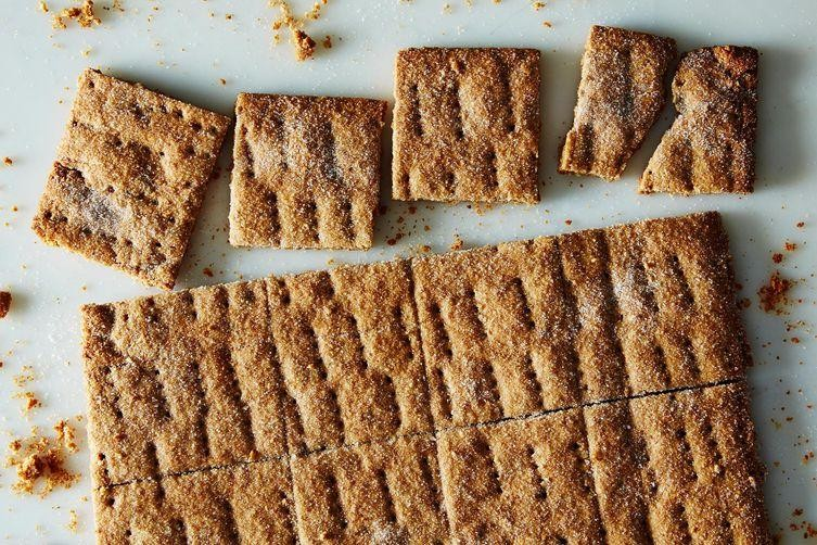 DIY Graham Crackers = Foxier S'mores
